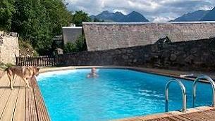 gite hautes pyrenees avec piscine