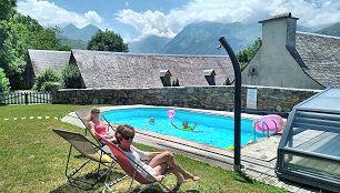 Les Granges de Jules Location grange dans les Pyrénées en été